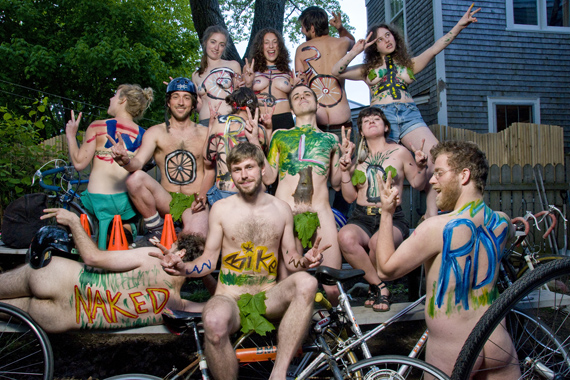 world naked bike day halifax